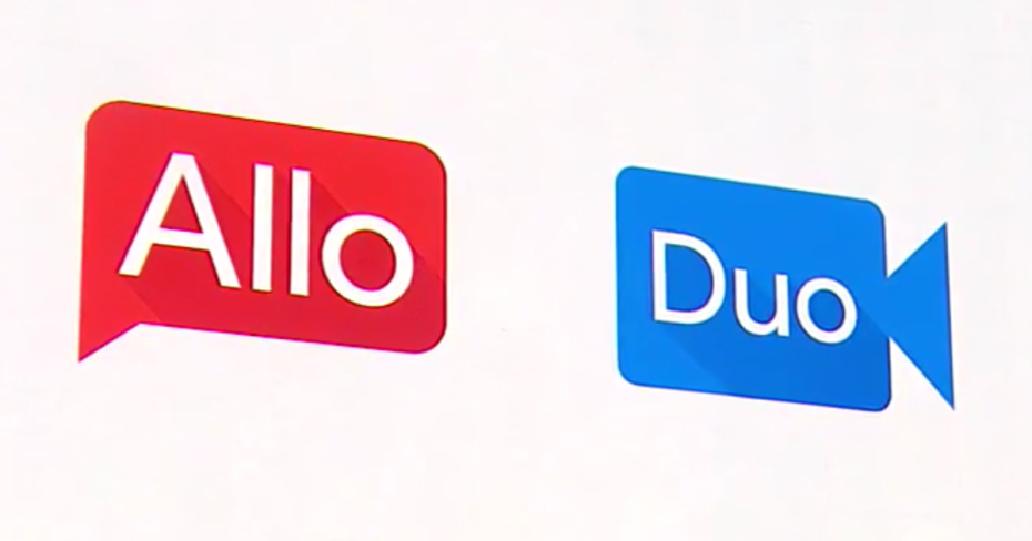 Google Allo, Google Duo Mobile Apps